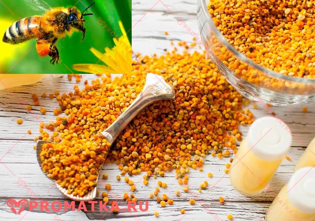 Лечение аднексита пыльцой